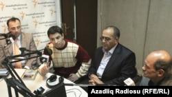 Azadlıq Radiosunun Bakı bürosu. Pen klub verilişi. 11 noyabr 2010