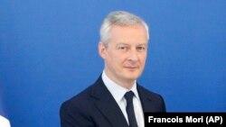 Ֆրանսիայի ֆինանսների նախարար Բրյունո Լը Մեր, արխիվ