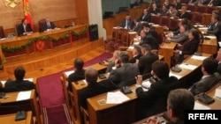 Sjednica crnogorskog parlamenta, foto: Savo Prelević