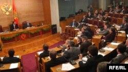 Jedna od sjednica crnogorskog parlamenta, foto: Savo Prelević