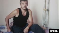 Поранений боєць АТО, фото Олександра Чекменьова