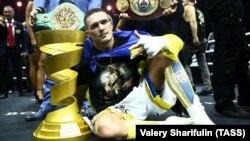 Олександр Усик став абсолютним чемпіоном світу у ваговій категорії до 90,7 кілограма