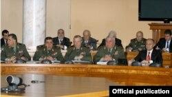 Фотография - пресс-служба Министерства обороны Армении,
