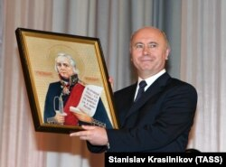 Инаугурация Николая Меркушкина на пост главы респ. Мордовия, 2005 год