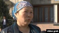 Гульшира Еркешкызы, переехавшая в Казахстан этническая казашка из Китая. Алматы, 25 октября 2017 года.