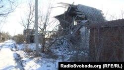 Наслідки бойових дій у населеному пункті Водяне, Донецька область