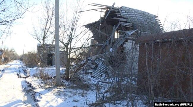 Водяне, Донецька область, лінія оборони ЗСУ