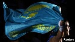 Олимпийский чемпион по боксу Серик Сапиев. Лондон, 12 августа 2012 года. Иллюстративное фото.