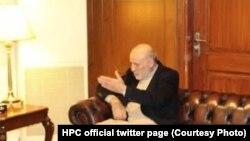 محمد عمر داوودزی رئیس دارالانشای شورای عالی صلح افغانستان