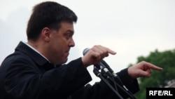 Лідер ВО «Свобода» Олег Тягнибок