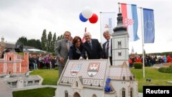 June 30-July 1: Zagreb hosts the ceremony on the occasion of Croatia's entry into the European Union.