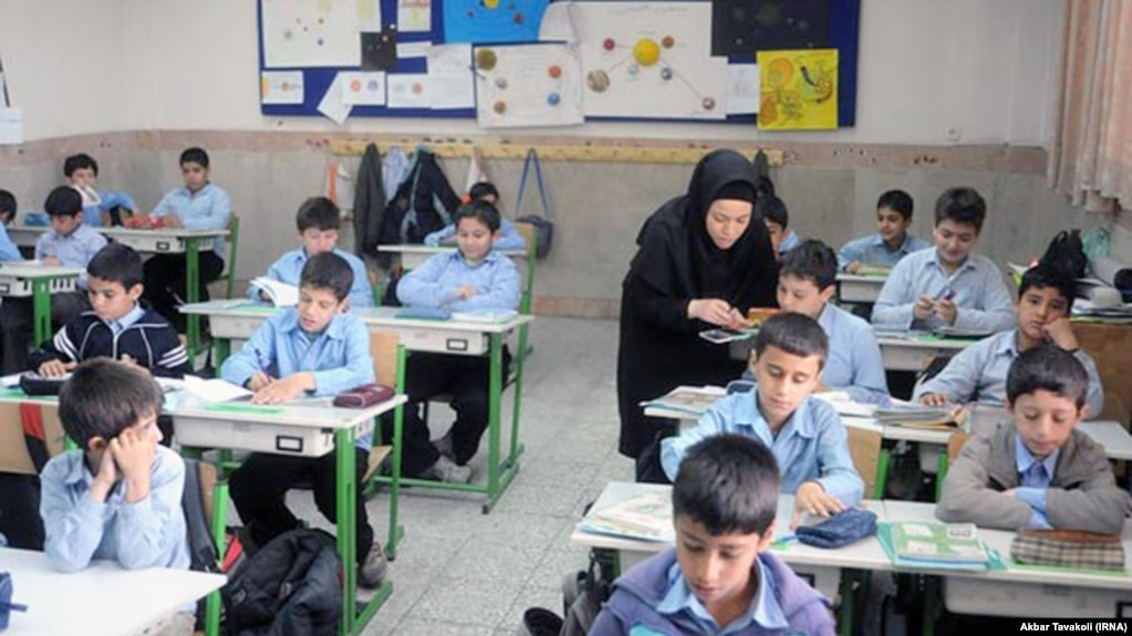 English-language teaching in Iran usually begins in middle school, but some primary schools with younger pupils also offer English classes.