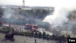 تصویری از سقوط هواپیمای «آنتونوف ایران ۱۴۰» متعلق به شرکت هواپیمایی سپاهان در مردادماه سال ۹۳
