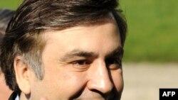 Gürjüstanyň prezidenti Mihail Saakaşwili.