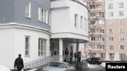 Здание налоговой службы Москвы. 1 марта 2012 года.