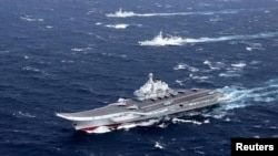 Չինաստանի զինված ուժերի ավիակիր և նավեր Հարավչինական ծովում, արխիվ