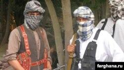 Милитанти од Исламското движење на Узбекистан во провинцијата Кудуз во Авганистан.