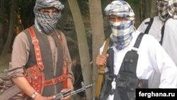 Afghanistan -- Militants of the Islamic Movement of Uzbekistan (IMU) in the northern Kunduz Province, undated