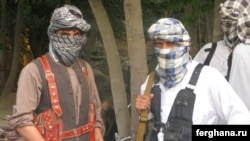 Afghanistan -- Militants of the Islamic Movement of Uzbekistan (IMU) in the northern Kunduz Province, undated