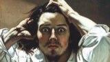 "Гюстаў Курбэ, ""Адчайны чалавек"" (1843)"