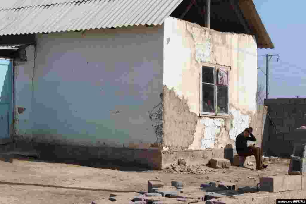 Так выглядит большинство домов в Жанаталапе.