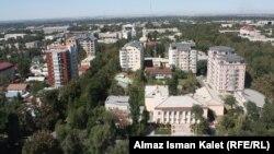 Pamje nga kryeqyteti Bishkek në Kirgizi