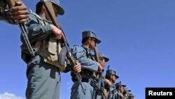 Сотрудники сил безопасности в афганской провинции Забуль.