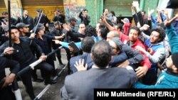 مظاهرة لحركة 6 ابريل في القاهرة