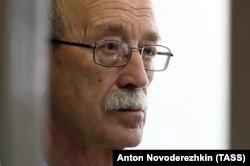 Виктор Кудрявцев в суде, август 2018 года