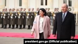 Саломе Зурабишвили пригласила Армена Сапкисяна в Батуми на конференцию, приуроченную к десятилетию «Восточного партнерства» Евросоюза
