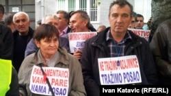 Sarajevo: Protesti radnika ¨Hidrogradnje¨