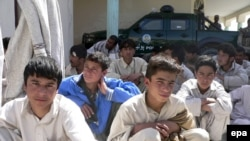 The survivors of the container ordeal were released in Kandahar to return to their villages.