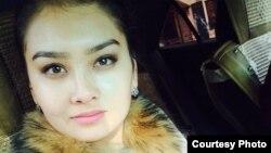Студентка Инкар Бекенова.