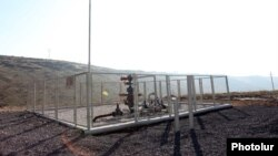 Armenia - An underground gas storage facility near Yerevan.