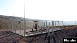 Armenia - An underground gas storage facility near Yerevan.