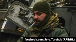 Георгій Турчак, боєць 95-ї десантно-штурмової бригади, 2014 рік