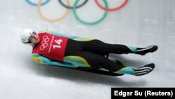 Казахстанские атлеты в Пхенчхане