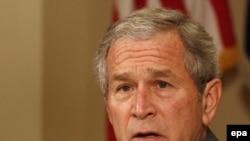 آقای بوش گفت که کشورهای خاورمیانه باید با حماس مقابله کنند.(عکس: EPA)