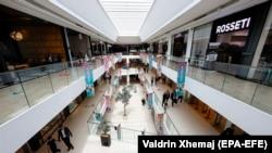 Tržni centar u Prištini, juni 2020.