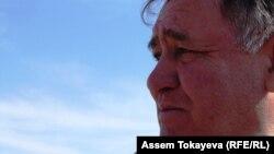 Александр Тайгаринов, сын заключенных Акмолинского лагеря жен «изменников» родины (АЛЖИР). Поселок Акмол, 14 апреля 2011 года.