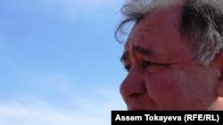 Александр Тайгаринов, «Отанын сатқандардың әйелдеріне арналған Ақмола лагері» («АЛЖИР») тұтқындарының ұлы. Ақмол кенті, 14 сәуір 2011 жыл.