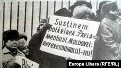 Balti, martie 1991. Moldova Suverană