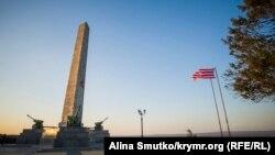 Обелиск Славы на горе Митридат, Керчь, 2016 год
