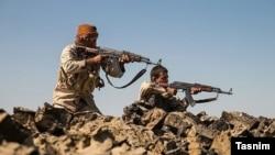 Иранские военнослужащие в Сирии. 2017 год