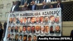 Bakuwdaky protest