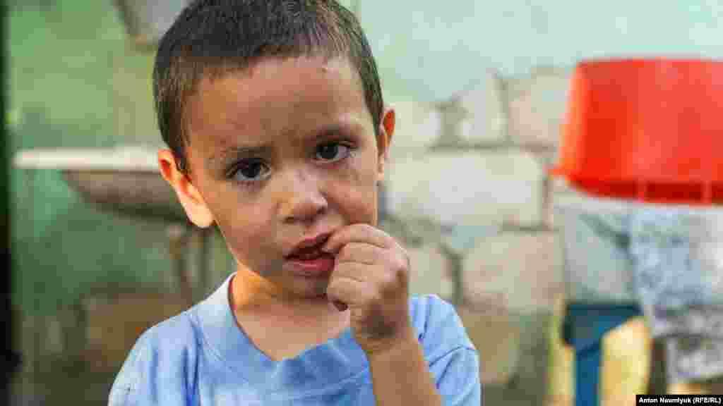 Старшему сыну Белялова – Хамзе – 4 года
