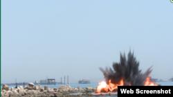 Каспий теңізін игеру жұмыстары. Әзербайжан, маусым 2018 жыл