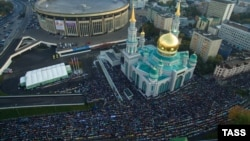 Muslimani slave Kurban bajram u Moskvi