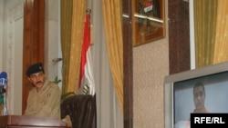 الواء قاسم عطا في مؤتمر صحفي سابق ببغداد