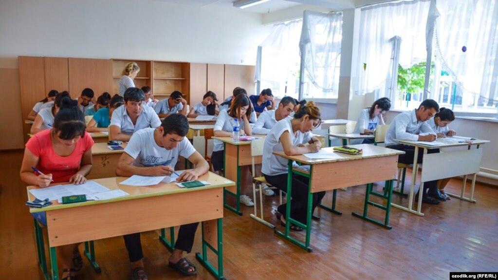 Өзбекстанда оқу орнына түсудің жаңа ережесі қабылданды